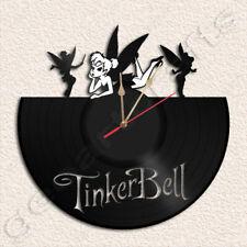 Tinkerbell Wall Clock Vinyl Record Clock
