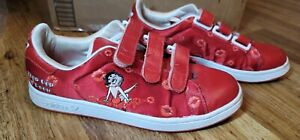 RARE Betty Boop Adidas Adicolor Red Series Sneakers Shoes R4 2006 Women's 8