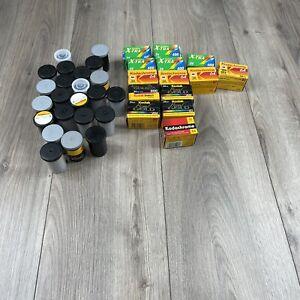 Lot Of 37 Rolls Expired 35mm Film Kodak Fuji
