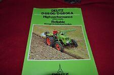 Deutz D68 06 Tractor Dealer's Brochure YABE11 VER90