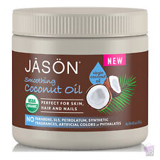Jason smoothing COCONUT OIL for skin, hair and nails, 443ml