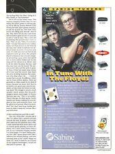 The Floyds Butch Walker Jayce Fincher Southgang Marvelous 3 Sabine 1996 Promo Ad