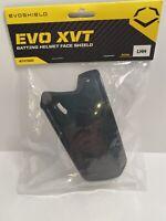 Evoshield XVT Baseball Batting Helmet Face Shield - Black - Left Hand Hitter