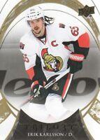 2015-16 Upper Deck Trilogy Hockey #63 Erik Karlsson Ottawa Senators