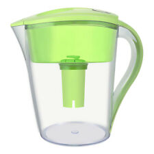LeDoux Waters 10 Cup Water Pitcher Filters with 1 Filter, BPA Free (Green)