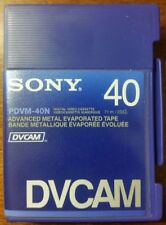 Box of 10 New Sony DVCAM PDV-40N  Video Cassette