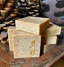 Handmade Soap- OATS & RAW HONEY - Cocoa Butter, No Palm, Big Lather, All-Natural