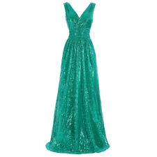 Kate Kasin Formal Long Sequins Dress Prom Evening Party Pageant Bridesmaid Dress
