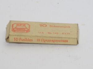 Trabant & Wartburg 16 Ampere DDR Kfz-Sicherungen 10 Stück