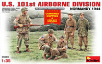 Miniart 35089 - 1/35 Scale U.S. 101st Airbron Division, Normandy 1944 WW II