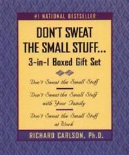 Don't Sweat the Small Stuff by Richard Carlson (1999, Book, Other)