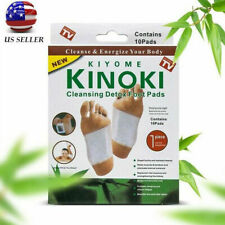 10 CLEANSING DETOX FOOT PADS PATCHES PAIN RELIEF TOXINS HERBAL ORGANIC