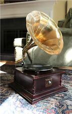 RCA Victoria Gramaphone or Gramophone w Horn Record Player Phonograph 78RPM