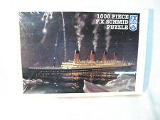 "New ListingF.X. Schmid 1000 Piece ""Titanic� Puzzle - Factory Sealed"