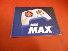 NES Max Controller Paddle Nintendo NES Instruction Manual Booklet ONLY