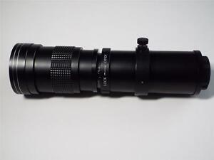 KELDA 420MM-800MM F8.3-F16 MANUAL FOCUS SUPER TELEPHOTO PENTAX K FIT  LENS