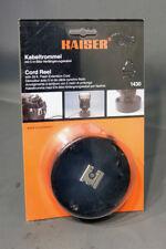 Kaiser Cord Reel 33ft Kabeltrommel Flash Extension cord 35mm SLR film New 1430