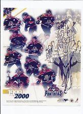 Florida Panters 1999-2000 Team Composite 8x10 photo Unsigned NHL