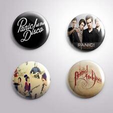 4 PANIC ! AT THE DISCO - Pinbacks Badge Button Pin 25mm 1''
