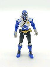 MMPR Power Rangers Samurai Blue Ranger 4.5in Action Figure Bandai 2012