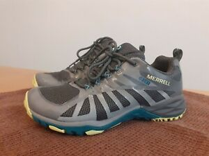 Merrell Siren Edge Q2 ladies walking shoes size 4 grey