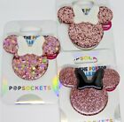 Rose Gold Minnie Phone Grip - Swap Tops to Change Designs TOP ONLY Disney Mickey