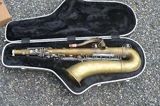 1961 Selmer Mark Vl Tenor Saxophone 5 Digits