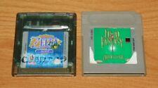 Legend of Zelda: Oracle of Ages & Final Fantasy Adventure - Nintendo Game Boy