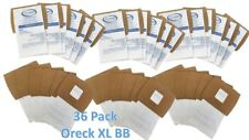 36 Pack Oreck XL Buster B (BB) Canister Vacuum Bags PKBB12DW Housekeeper Bag