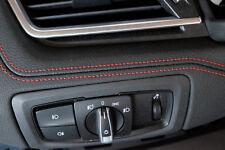 Bmw 2er Grand Tourer  F46 Instrumententafel  mit rote Naht dashboard black HUD
