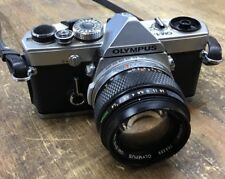 Olympus OM-1 Film Camera W/ Olympus 50mm 1.4 Lens BROKEN