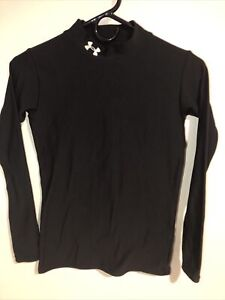 Under Armour Black Youth XL Compression Shirt