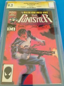 Punisher Limited Series #5 - Marvel - CGC SS 9.2 - Signed by Mike Zeck