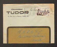 "PARIS (VIII°) ACCUMULATEUR ""TUDOR"" en 1956"