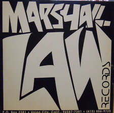 MARSHALL LAW RECORDS FREESTYLE DANCE LP GOOD++