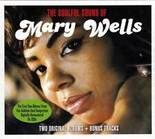 MARY WELLS - THE SOULFUL SOUND OF - TWO ALBUMS + BONUS TRACKS (NEW SEALED 2CD)