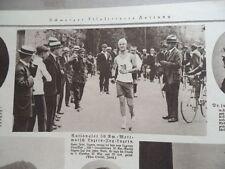 1921 atletismo 50 km ir Lucerna tren