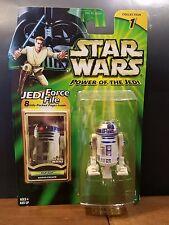 Star Wars POTJ R2-D2 Naboo Escape Jedi 8 Page Force File Green Card 2000 Col. 1