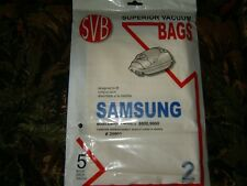 SVB Samsung 8000,9000 (5) Vacuum Bags New and Sealed.