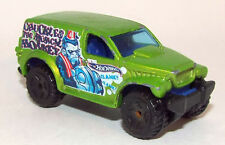 Hot Wheels Die Cast Power Panel Truck marked Cuckles The Musical Monkey