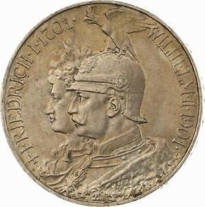 Preussen - 5 Mark 1901 - 200 Jahre Königreich
