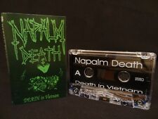 NAPALM DEATH Death In Vietnam  / 1990 / MC CASSETTE AUTOPSY, SUFFOCATION