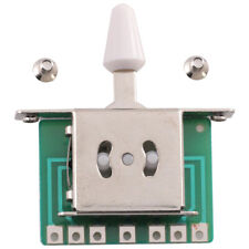 Seismic Audio 5 Way Toggle Switch Pickup Selector for Tele Strat Guitars
