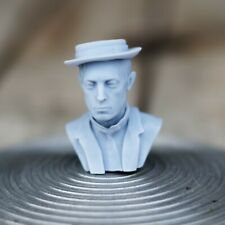 Exclusive Buster Keaton Bust 4cm, Grey Resin