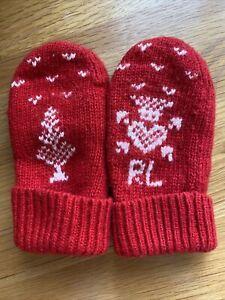 Ralph Lauren Infant Mittens/gloves Age 12-18 Months