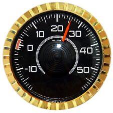 Original 1977 Bimetall Thermometer mit Magnet & Klebepad RICHTER / HR Art 2804