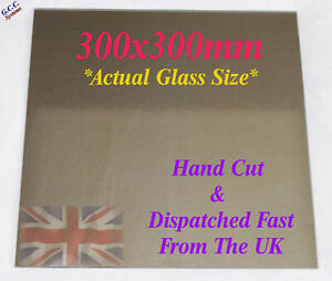 300 x 300mm Mirror Glass Plate For Heated 3D Printer Bed Creality ANet Prusa