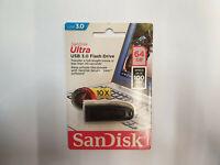 NEW Genuine 64GB SanDisk Ultra USB 3.0 Flash Pen Drive Stick Windows PC/Mac