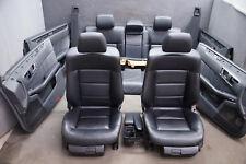 MERCEDES W212 modèle T Sièges en cuir noir aménagement intérieur sièges d'enfant