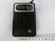 Sharp Solid State Transistorkoffer MW - Rarität, ALT!